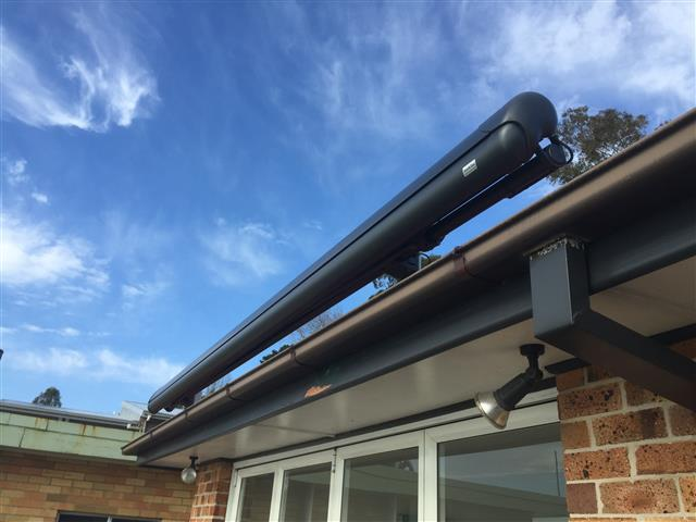 Markilux 1600 Awning at Eleebana b - installed by East Coast Shade Design