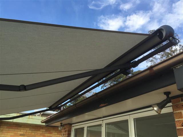Markilux 1600 Awning at Eleebana (d) - installed by East Coast Shade Design