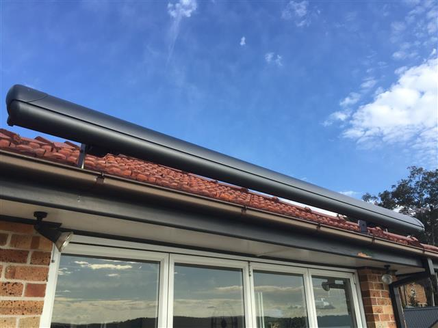 Markilux 1600 Awning at Eleebana (e) - installed by East Coast Shade Design