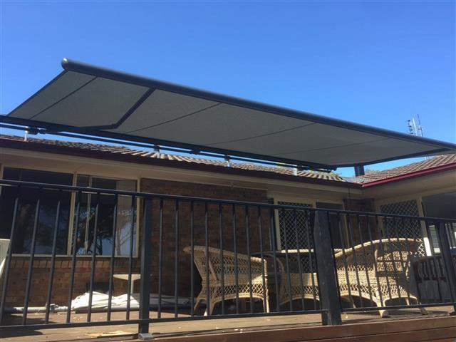 Markilux 1600 Awning at Wangi Wangi (c) - installed by East Coast Shade Design