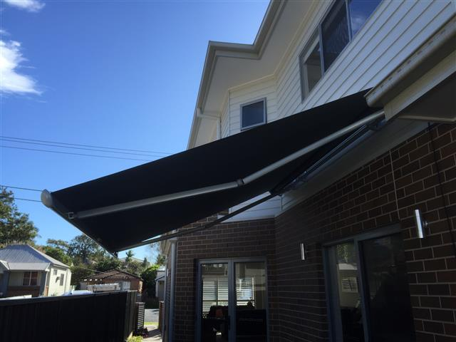 Markilux 1600 Retractable Awning at New Lambton (a) - installed by East Coast Shade Design