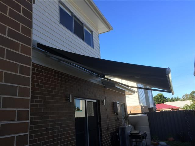 Markilux 1600 Retractable Awning at New Lambton (c) - installed by East Coast Shade Design