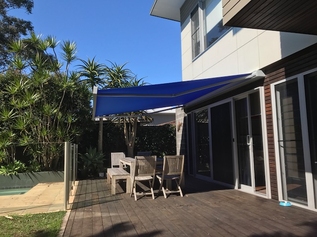 Markilux 970 Folding Arm Awning - installed at North Avoca by east Coast Shade Design