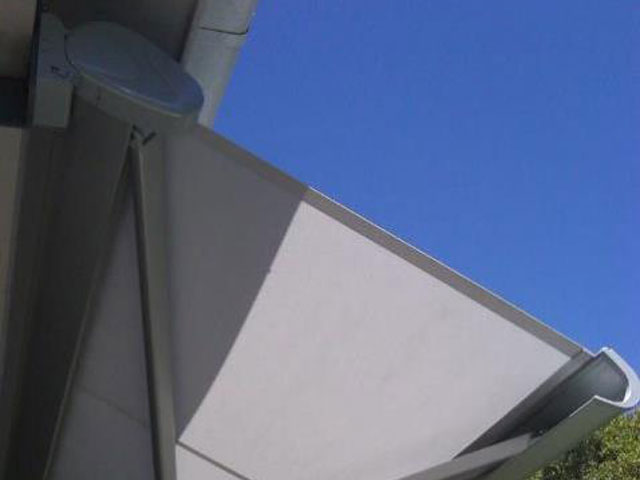 Retractable Folding Arm Awning installed at Merewether