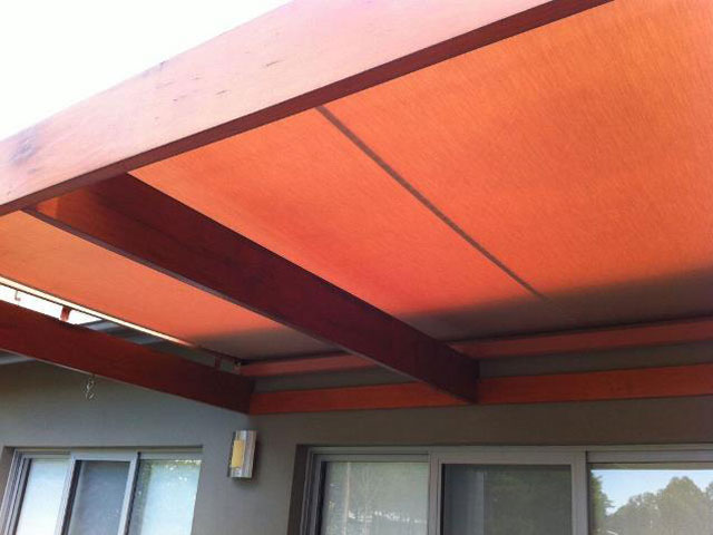 Conservatory Awning - Installed at The Vintage Hunter Valley by East Coast Shade Design