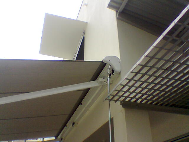 Folding arm Awning - Retractable Awning installed by East Coast Shade Design
