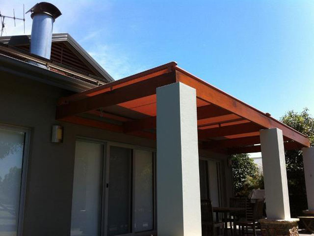 Conservatory Awning - Installed at Hunter Valley by East Coast Shade Design