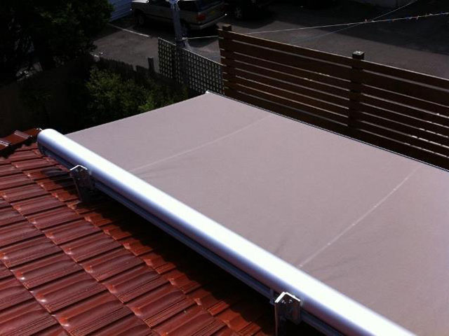 Folding Arm Awning - East Coast Shade Design