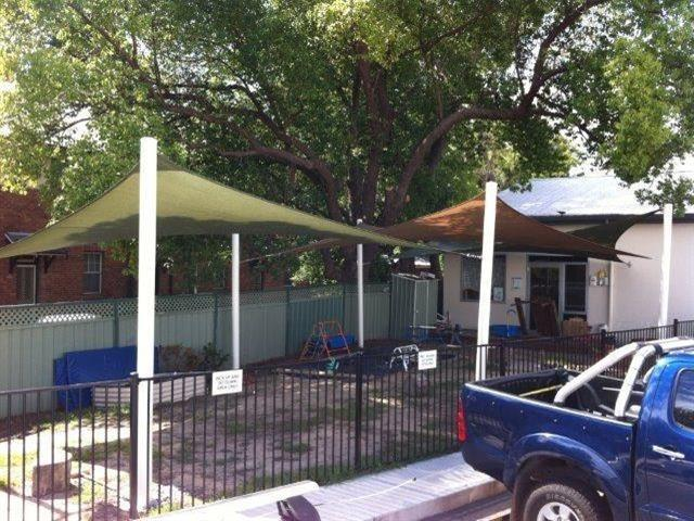 Shade Sail - Child Care Centre - East Maitland - East Coast Shade Design