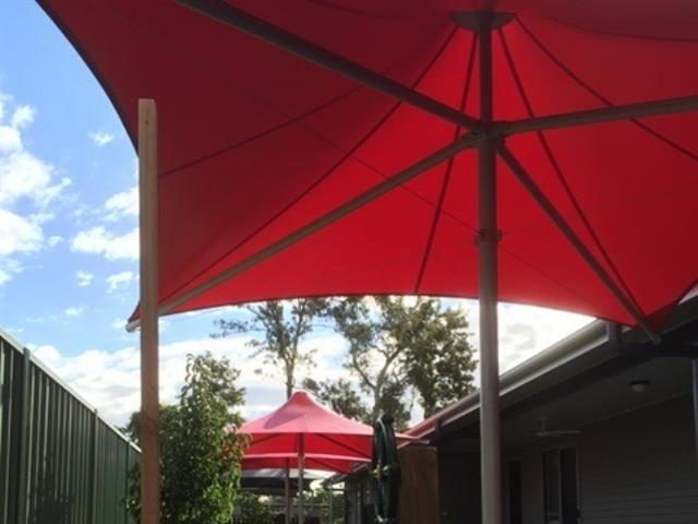 Outdoor Umbrella - Child Care Centre - East Coast Shade Design