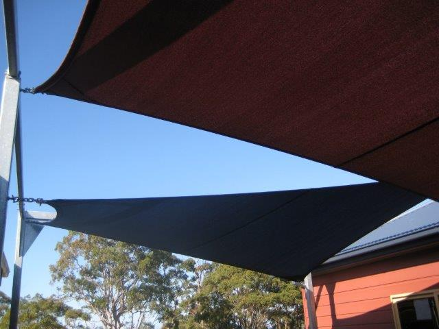 Child Care Centre Shade Sail - installed by East Coast Shade Design