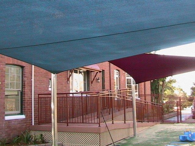 Child Care Centre Shade - installed by East Coast Shade Design