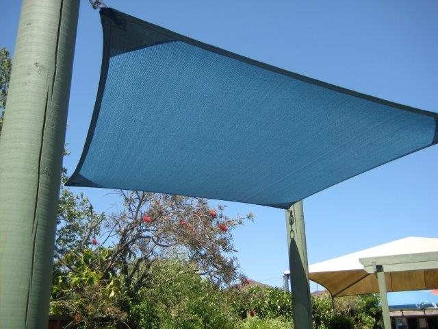 Shade Sail for Child Care Centre - installed by East Coast Shade Design