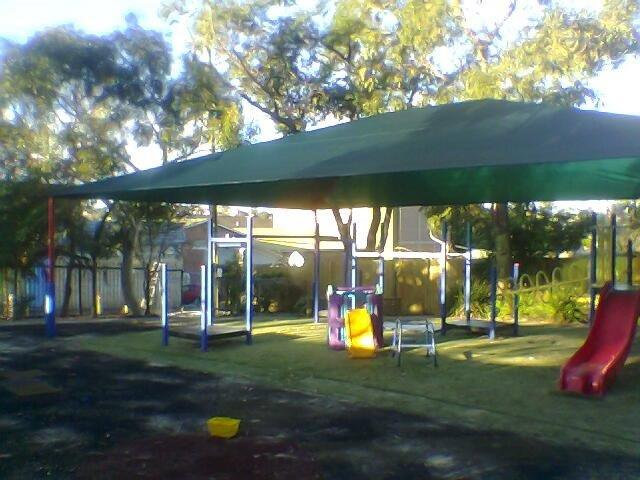 shade for outdoor area child care centre