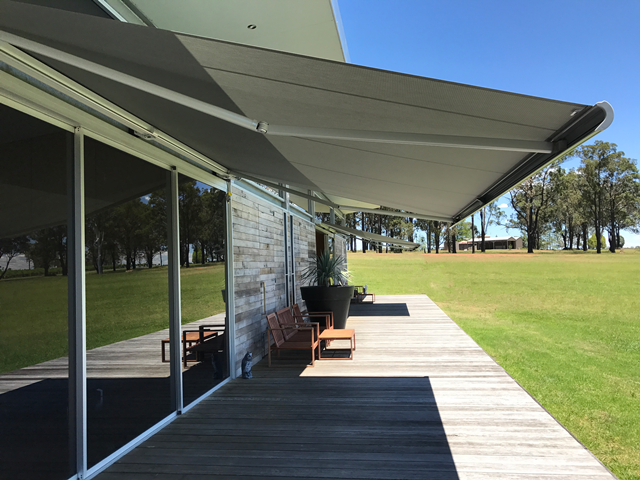 Markilux 5010 Folding Arm Awning installed at Hunter Valley by East Coast Shade Design 4