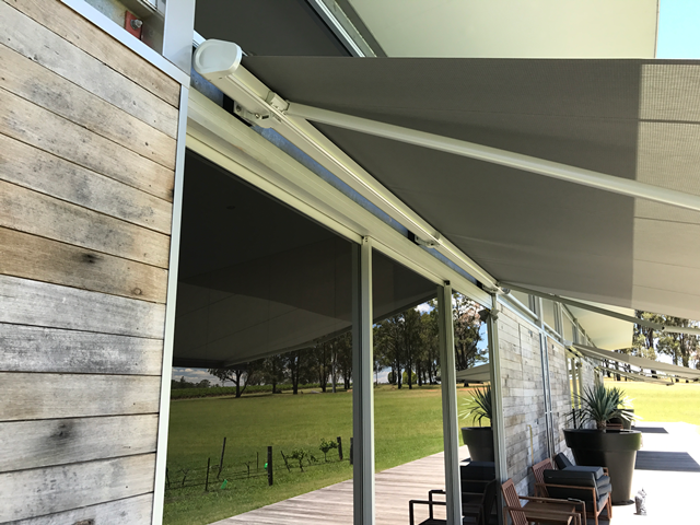 Markilux 5010 Folding Arm Awning installed at Hunter Valley by East Coast Shade Design 5