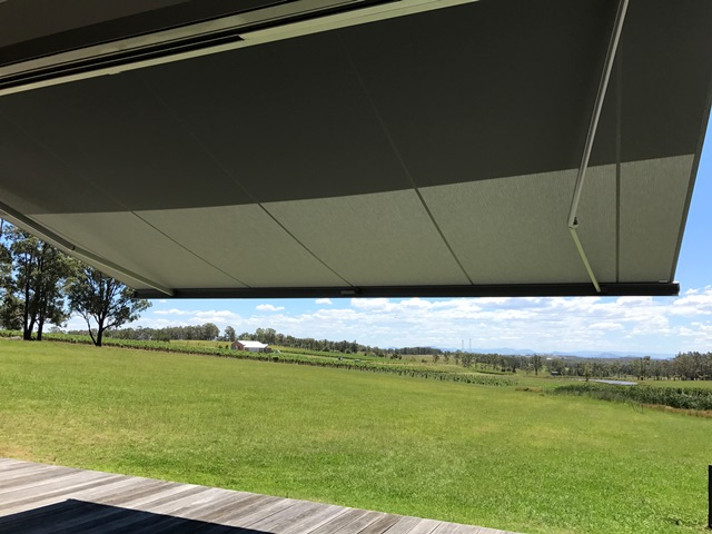Markilux 5010 Folding Arm Awning installed at Hunter Valley by East Coast Shade Design