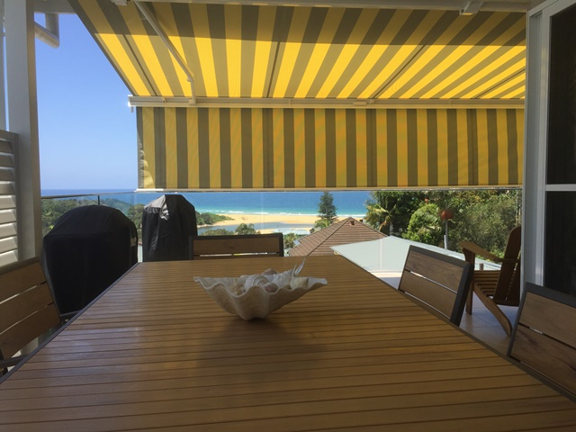 Markilux 5010 Folding Arm Awning installed at Wamberal by East Coast Shade Design 3
