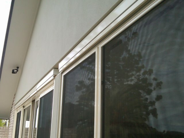 Straight Drop Blind installed on Central Coast - East Coast Shade Design
