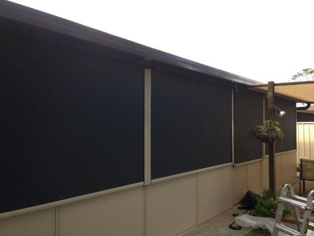 Panel Outdoor Blinds installed in Windsor Sydney by East Coast Shade Design