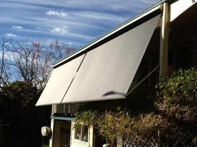 Outdoor Blinds installed by East Coast Shade Design