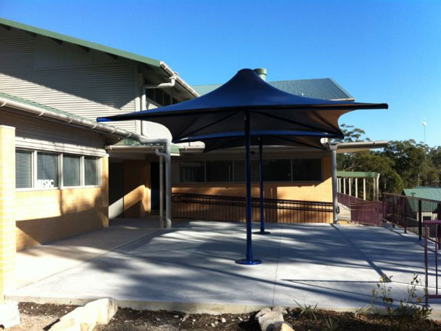 Skyspan Umbrella Horizon installed at Charlton Christian College