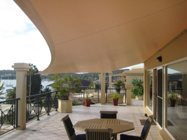 Shade Sails Structures Cloth Awnings Gallery