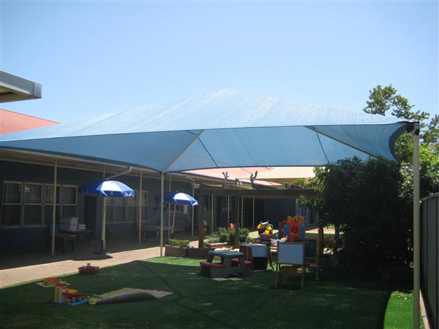 Custom Shade Structure by East Coast Shade Design