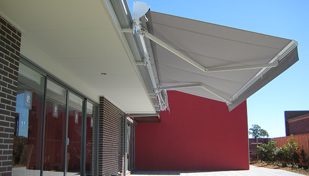 awnings gallery  Blinds View more  outdoor blinds galleryOutdoor Blinds  Shade Sails   Caf  Umbrellas   East Coast Shade Design of Outdoor Blinds And Awnings Newcastle